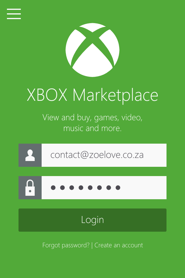 Xbox Marketplace concept - Metro UI Design by Zoe Love 0